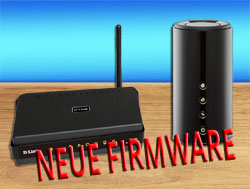 D-Link neues Firmware-Update